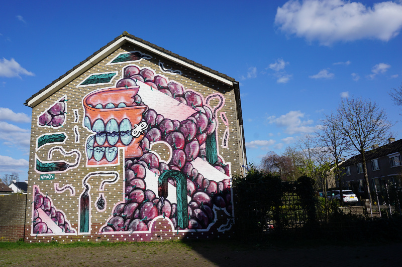 Blind Walls Gallery fietstour princenhage