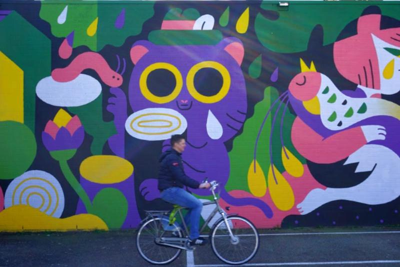 Blind Walls Gallery fietstour