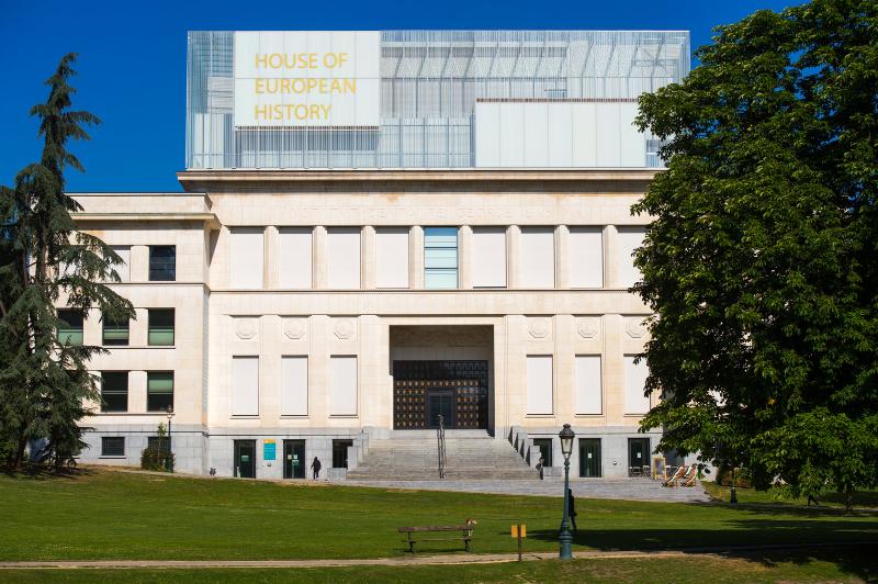 Het huis van de Europese Geschiedenis