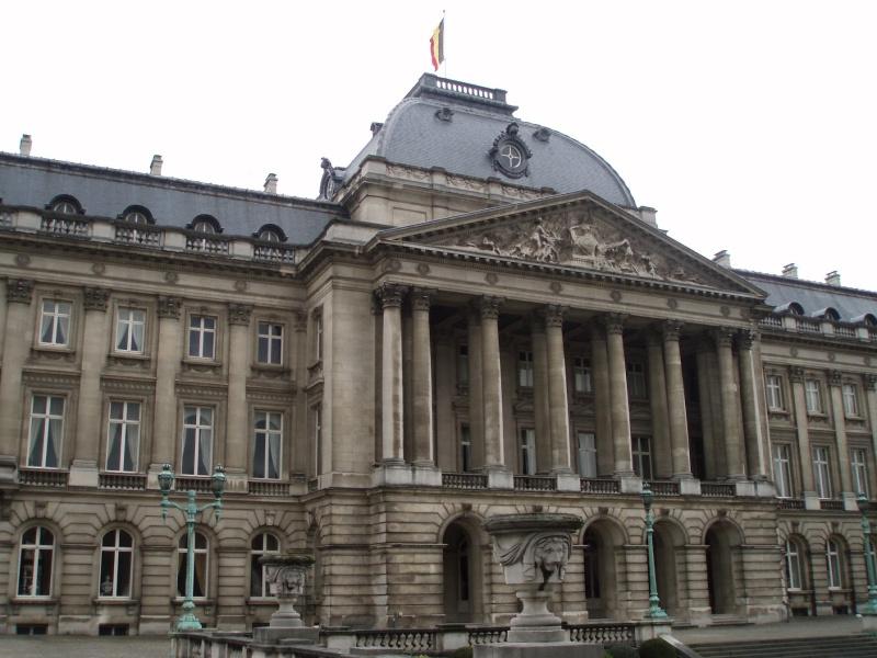 Kuifje in Brussel Koninklijk Paleis België