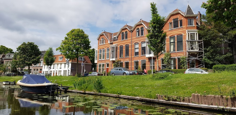 Leiden vanaf het water