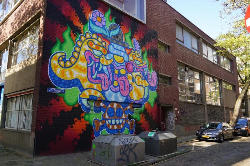 Rewriters010 street art Rotterdam