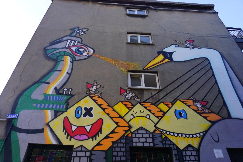 Street art Rotterdam Lastplak