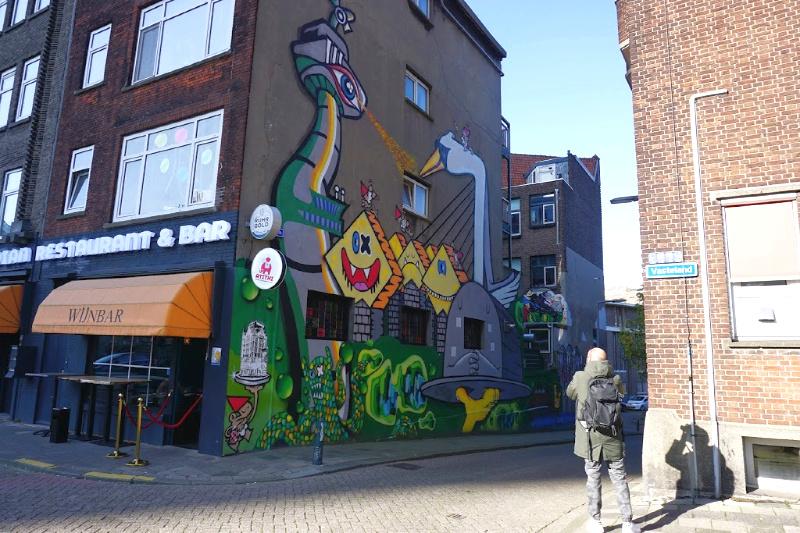 Rewriters010 street art Rotterdam Marcel