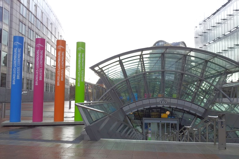 Station Brussel-Luxembourg