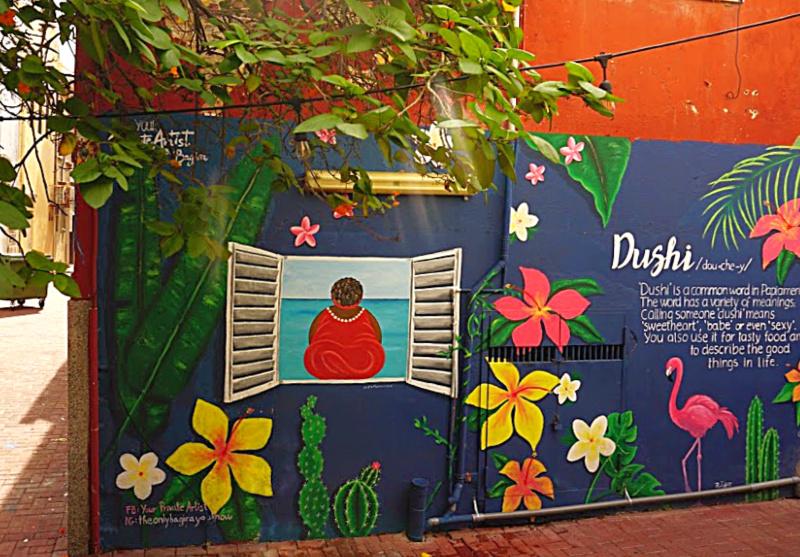 Street art Curaçao Punda