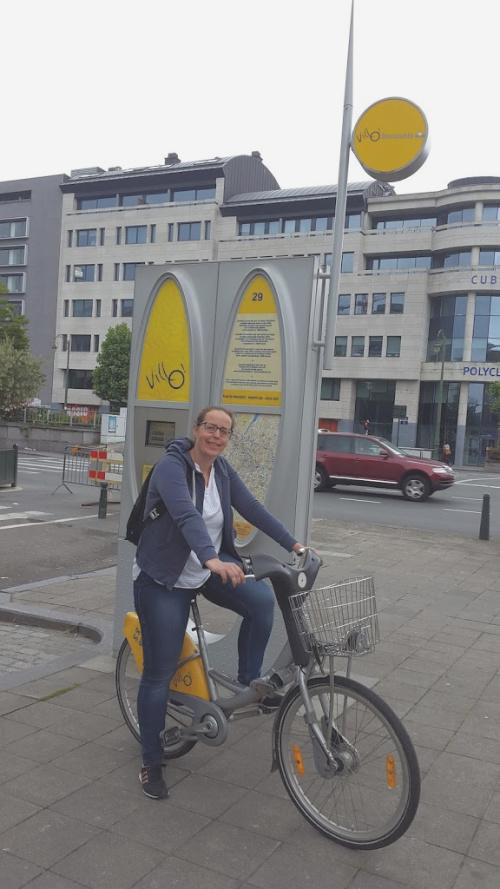 Villo! Brussel België