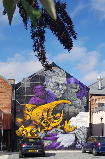 street art Fruit Garden Hull
