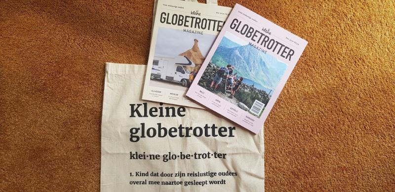 Kleine globetrotter magazine – een blad voor reislustige ouders