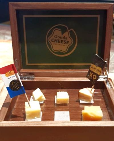 Gouda Cheese Experience kaasproeverij