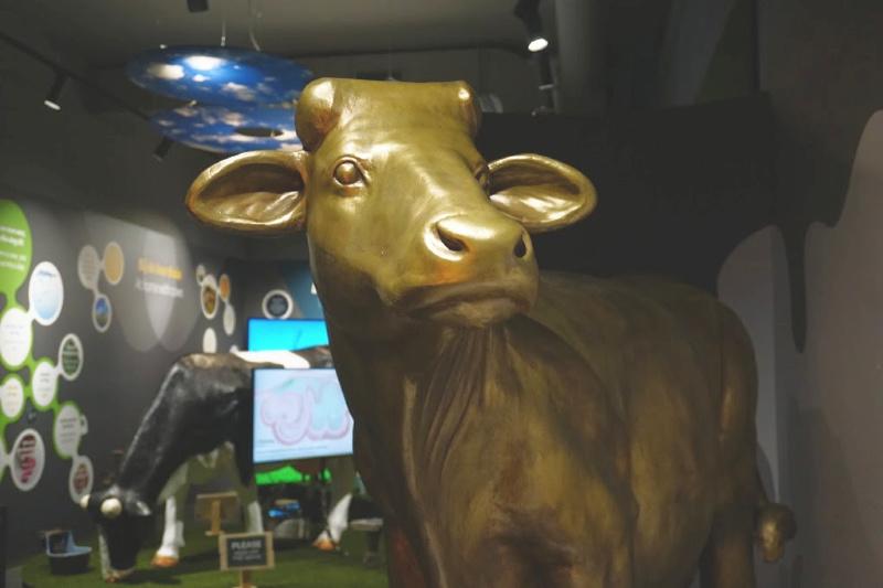 Gouda Cheese Experience gouden koe