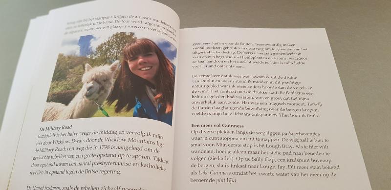 pagina's uit het boek