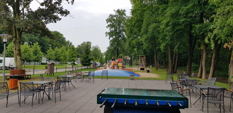 Landal Amerongse Berg terras speeltuin