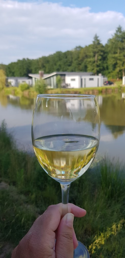 landal amerongse berg wijntje op het terras