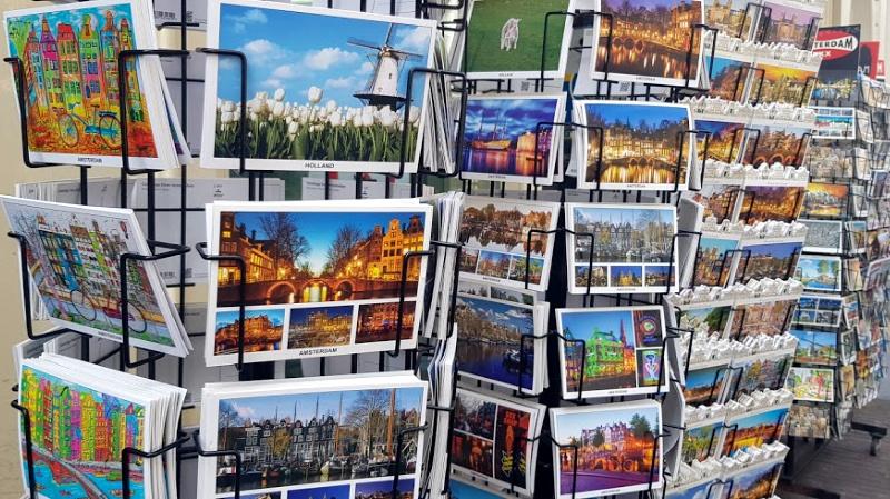 Noord-Holland ansichtkaarten amsterdam