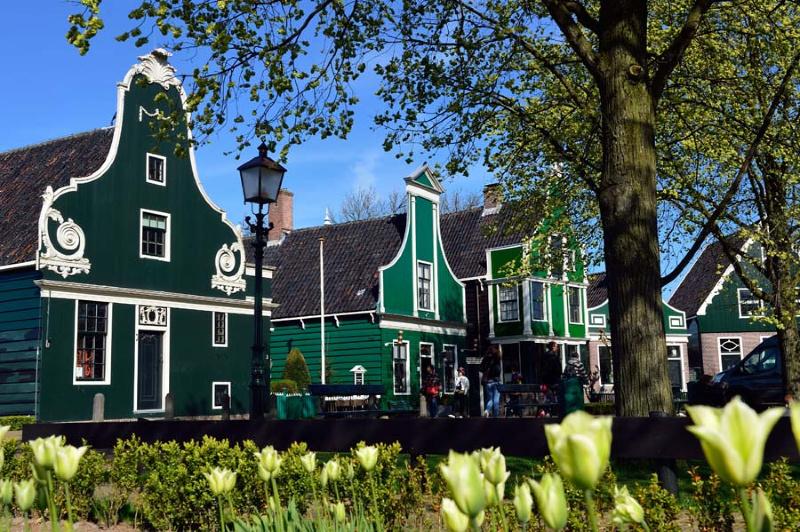 Zaanse Schans Zaanstad Noord-Holland Nederland