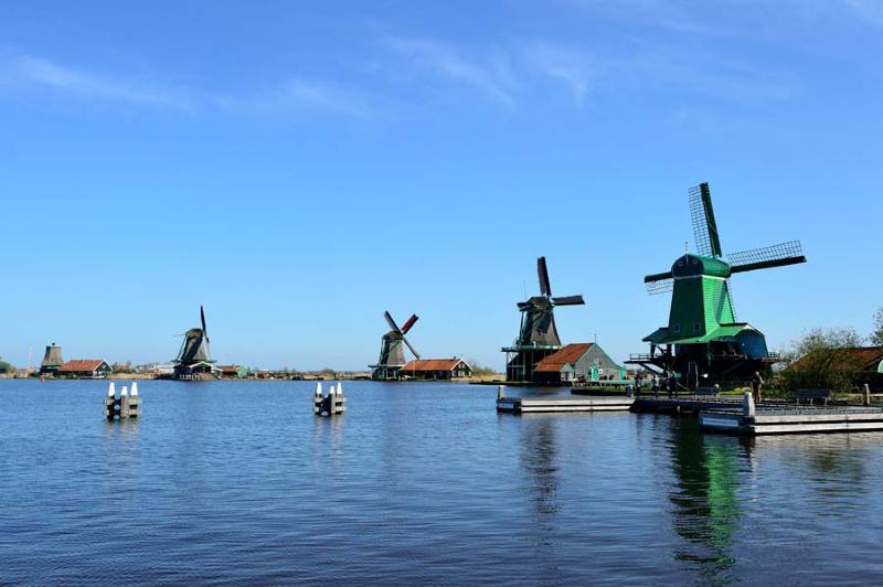 Nederland Zaanse Schans molens