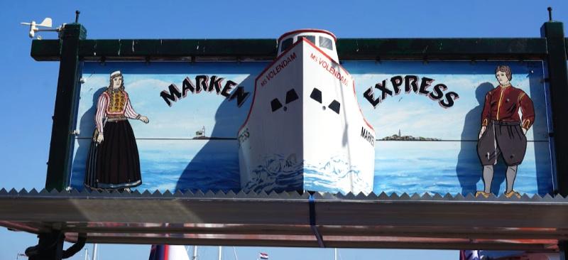 Laag Holland Volendam Marken Express