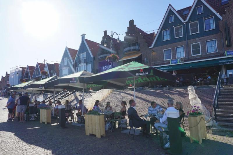 Restaurant Lotje Jan Smit Volendam Laag Holland Nederland