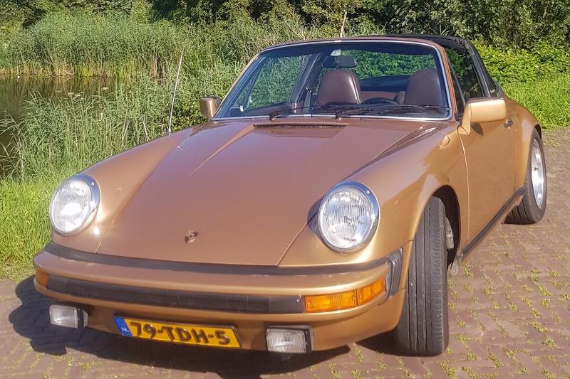 Huur een Oldtimer Porsche 911 cabrio targa