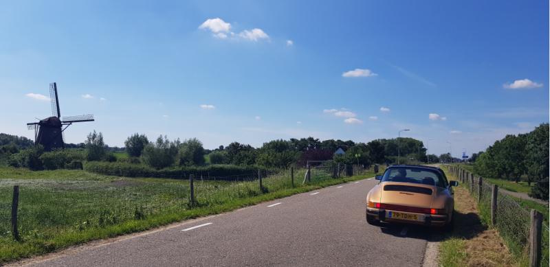 Porsche 911 cabrio targa