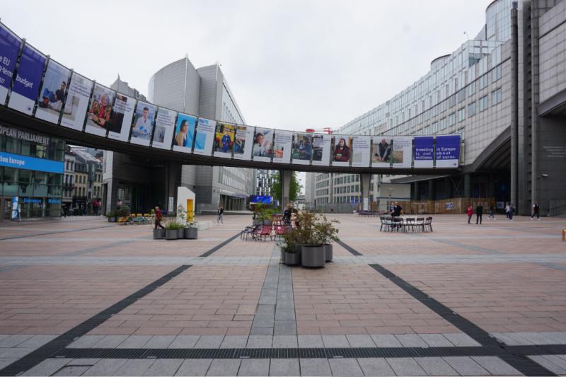 Zomerzoektocht Brussel Europese wijk