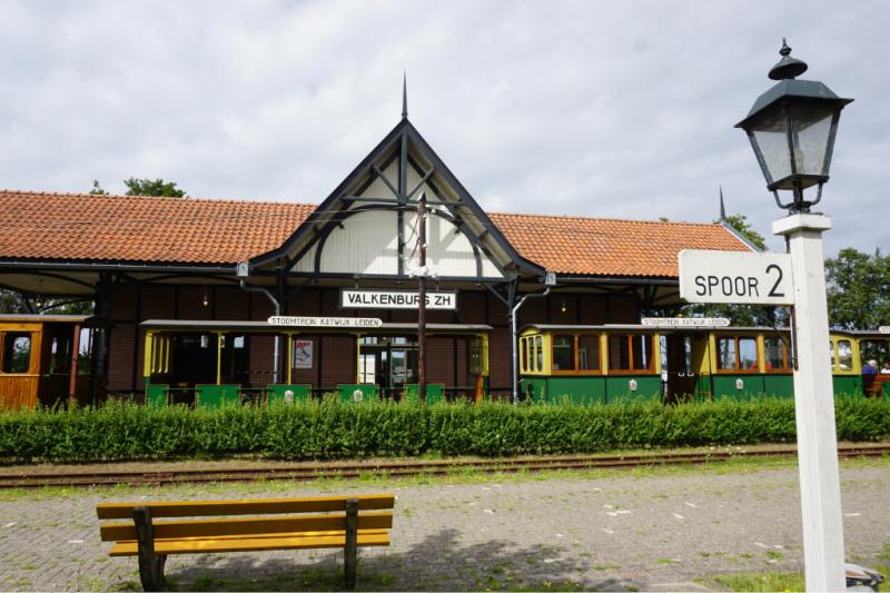 streek van verrassingen Stoomtrein Katwijk Leiden