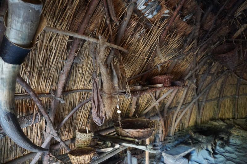 hut uit de prehistorie