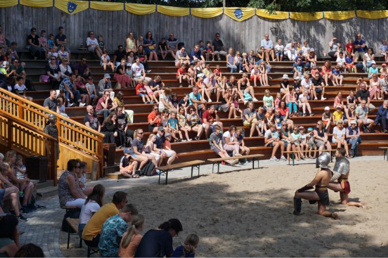 Gladiatoren Welkom bij de Romeinen Archeon Nederland Alphen aan den Rijn