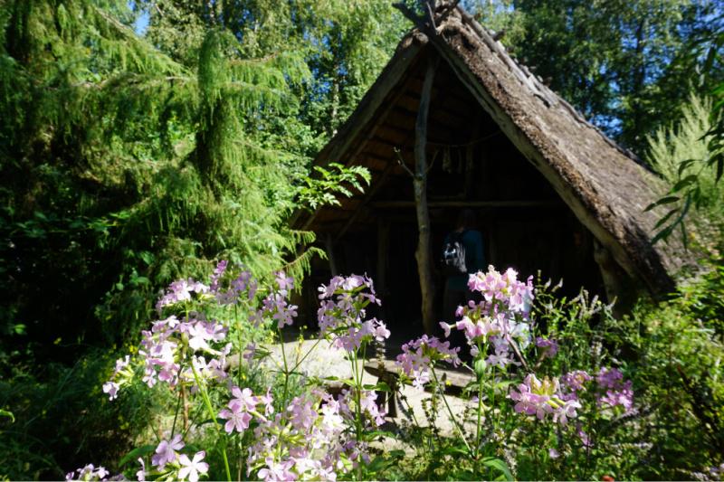 eenvoudige hut