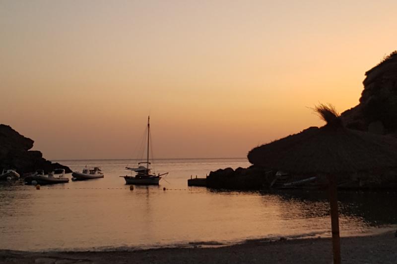 Ibiza Spanje Foto herinneringen