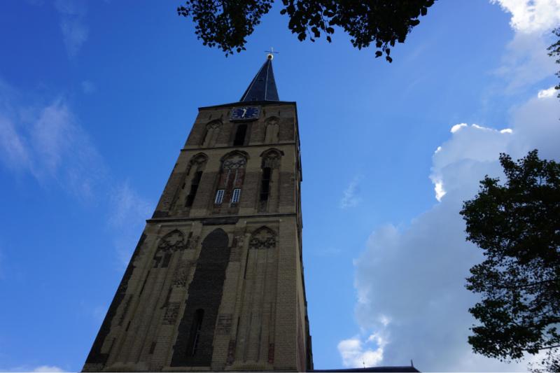 middeleeuwse Hanzestad Kampen