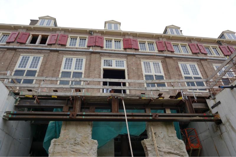 Verbouwing paleis het Loo Apeldoorn