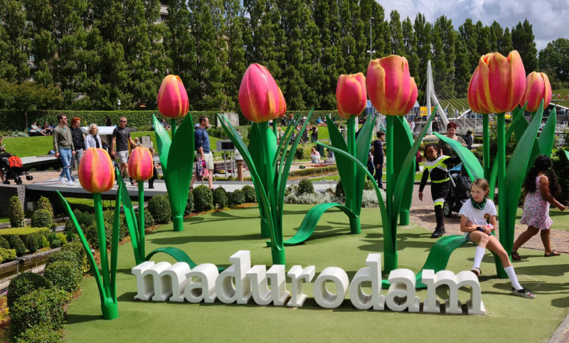 Madurodam, dwalen door Nederland in zakformaat