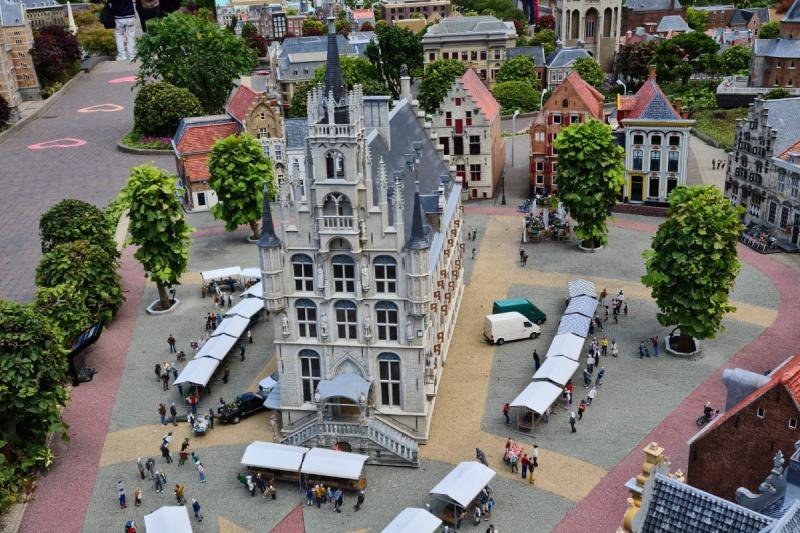 Gouda Markt in miniatuur