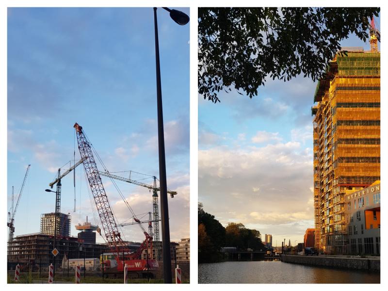 Amsterdam Noord bouwput