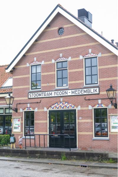 station stoomtrein Hoorn Medemblik