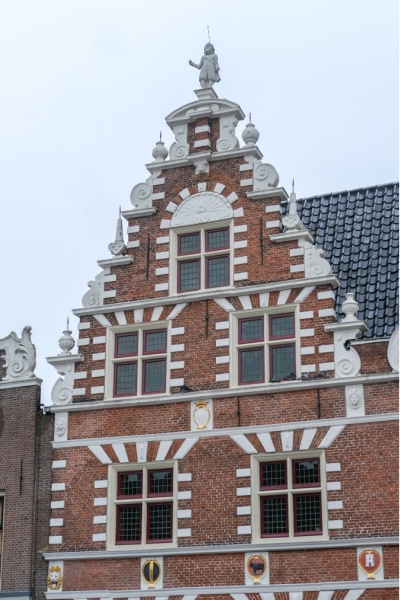 gevel Hoorn Nederland