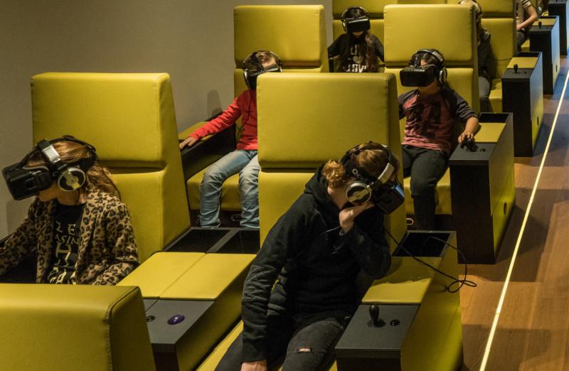 VR zaal Westfries museum Nederland