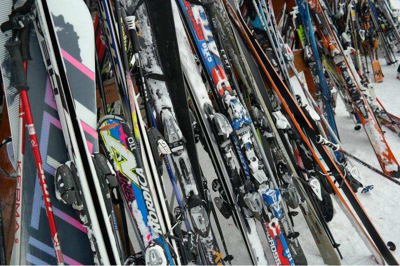 Blunders tijdens de wintersport verkeerd materiaal