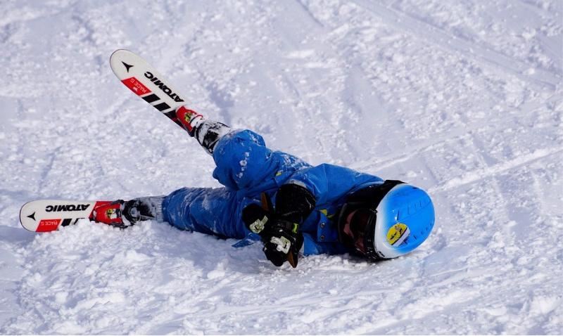 Blunders tijdens de wintersport vallen