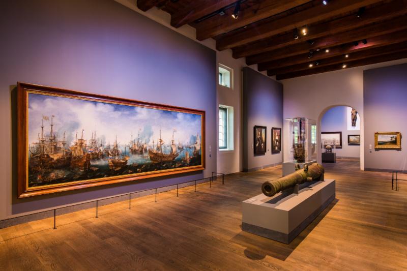 Tentoonstelling Republiek aan Zee in de Hoofdgalerij - Credits Twycer