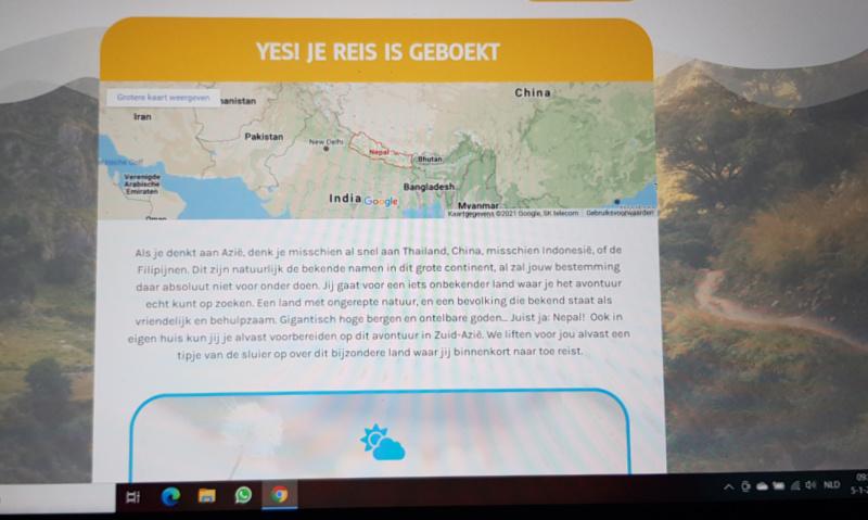 Vleugje Vakantie Rondreis Nepal