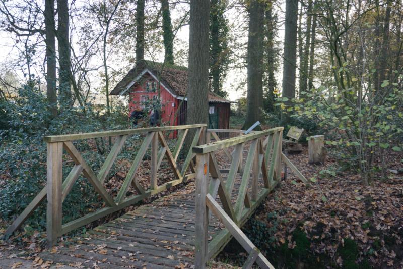 Schutter vakantiehuisje Esbeek
