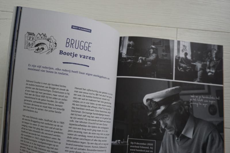 Boek Reizen Waes schipper reien rondvaartboot Brugge