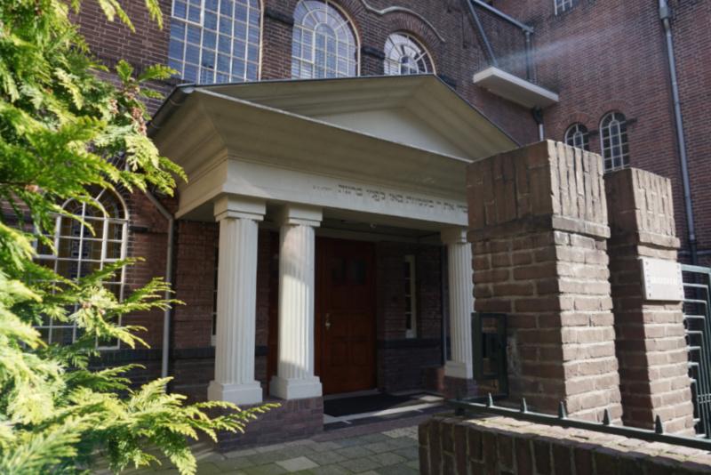 de voormalige synagoge aan de Springweg Utrecht