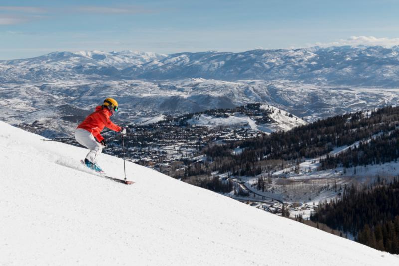 Verenigde staten wintersport Utah Deer Valley