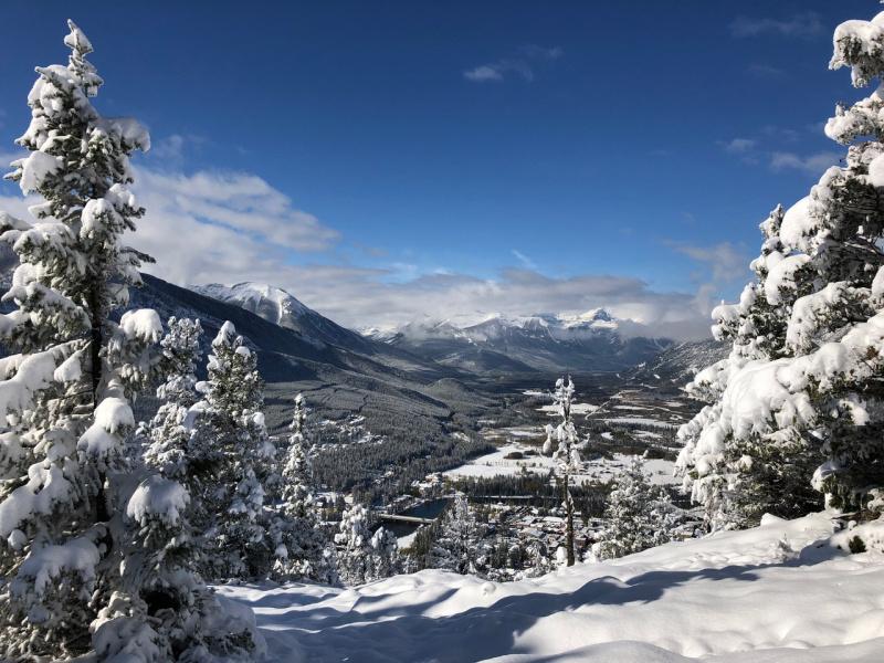 Favoriete wintersportbestemmingen Banff Canada