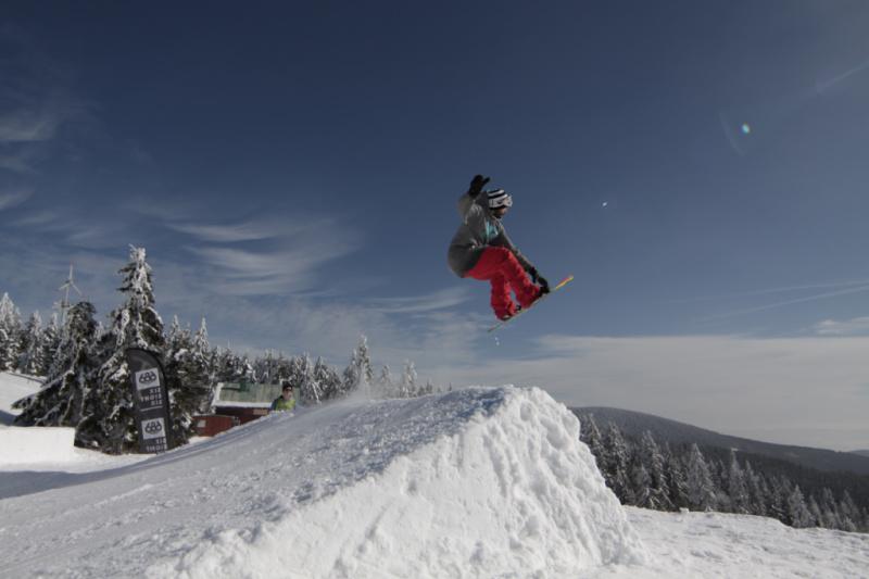 Wintersport in Tsjechië Snowboarding Klínovec