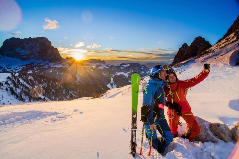 Ontdek volgende winter de machtige Zuid-Tiroolse Dolomieten +WIN